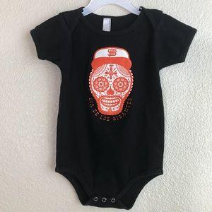 American apparel San Francisco Giants onesie